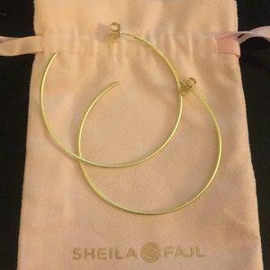 Sheila Fajl Thin Hoops